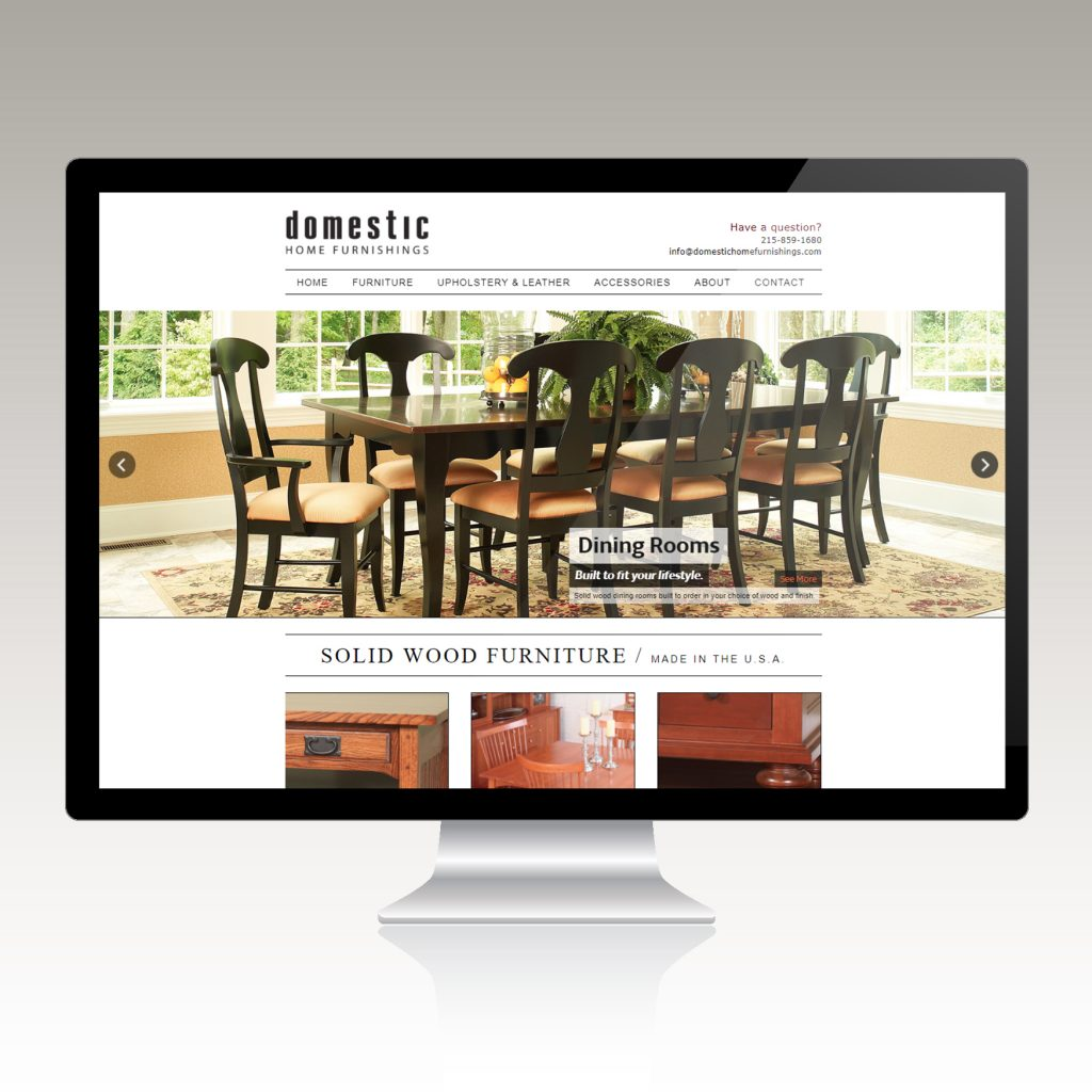 furniture-retailer-website-design