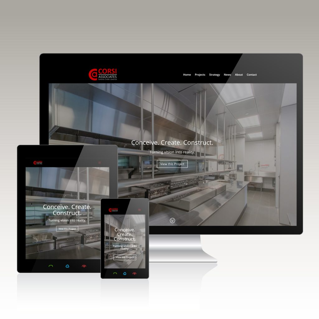 Architectural Co. Website Design