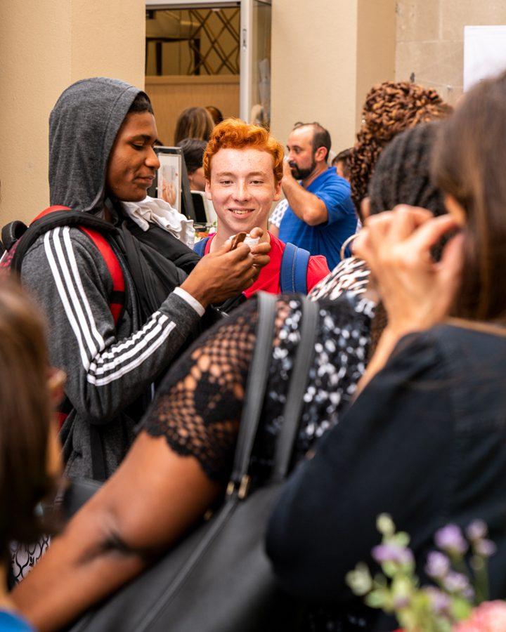 Salon Grand opening event photo