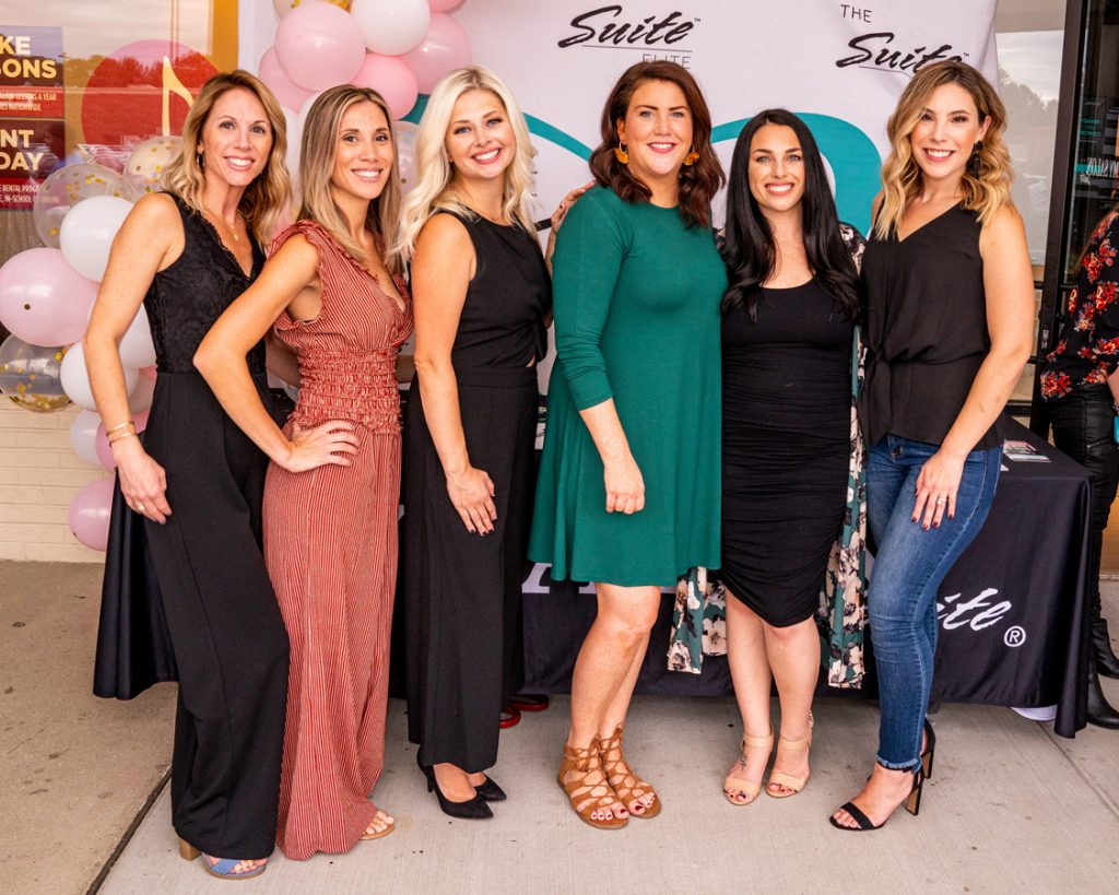 Photo of salon stylists