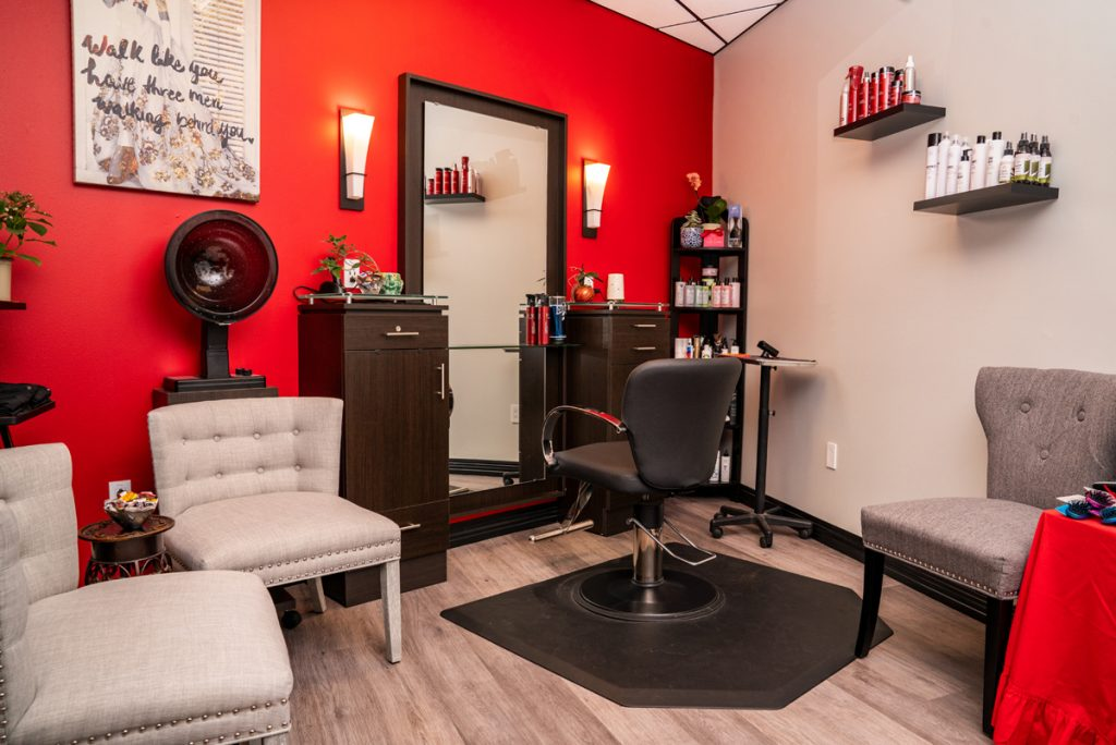 Interior of Salon Photography