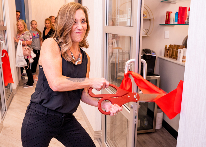 My Salon Suite Grand Opening Event Photography