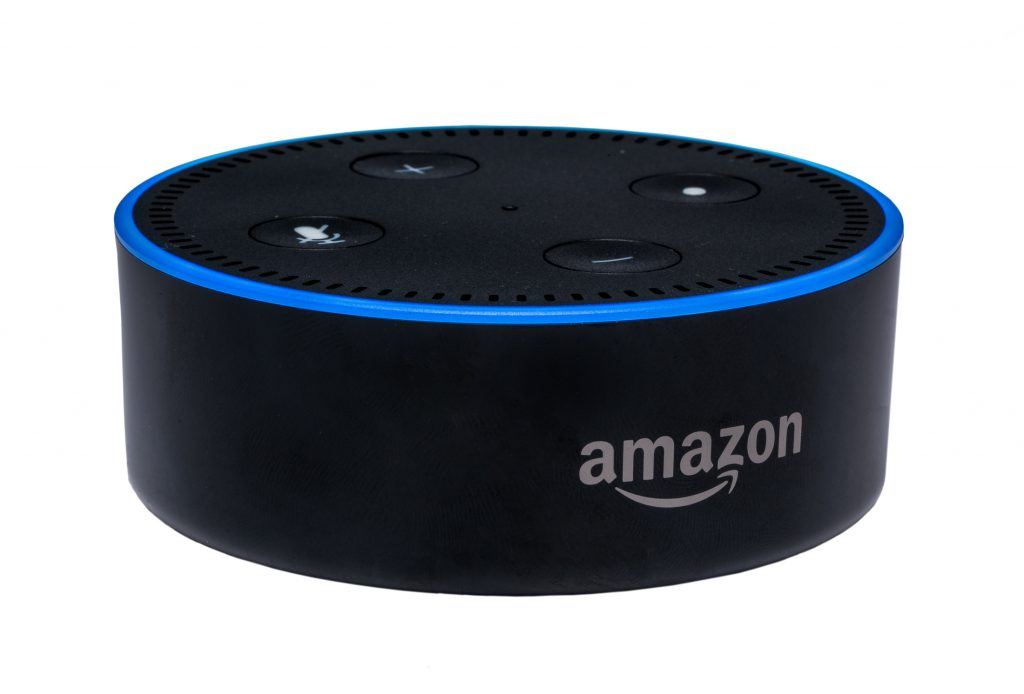 product photo of Amazon dot