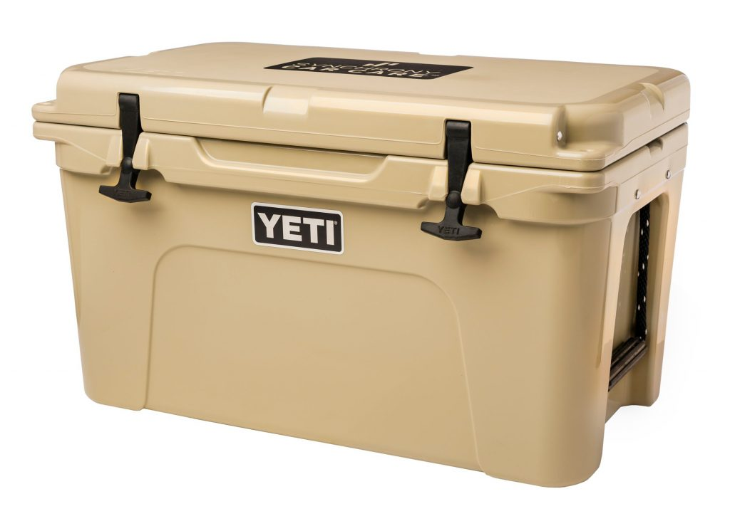 product photo of yeti cooler